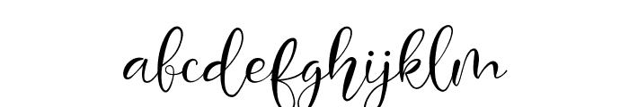 Mondeylla Font LOWERCASE