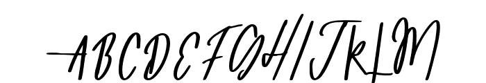 Mongolia Font UPPERCASE