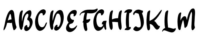 Monkey Monday Font UPPERCASE
