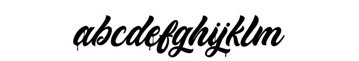 MonkeyAct Font LOWERCASE