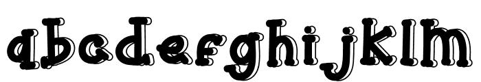 Monkeys Kid Font LOWERCASE
