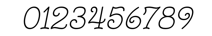 Monomalistic Generation Italic Font OTHER CHARS