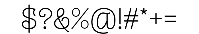 Monomalistic Generation Font OTHER CHARS