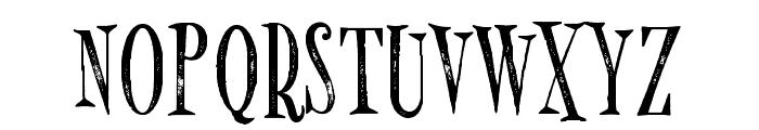 MonsterPie Rough Regular Font UPPERCASE