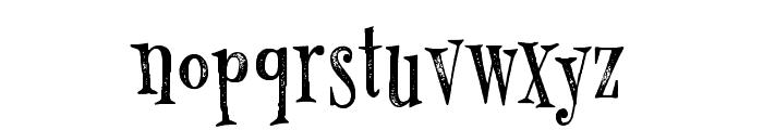 MonsterPie Rough Regular Font LOWERCASE