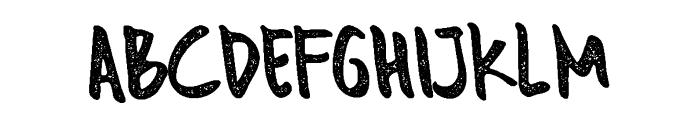 Monterado Rough Font UPPERCASE