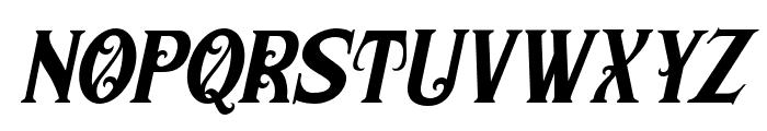 MorganTattoo-Italic Font LOWERCASE