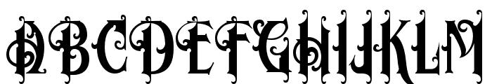 MorganTattoo Font UPPERCASE