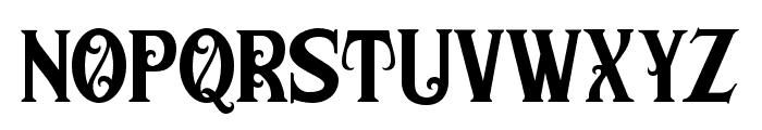 MorganTattoo Font LOWERCASE
