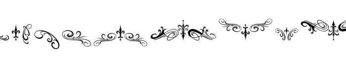 Morgantattoo Morgantattoo ornament Font UPPERCASE