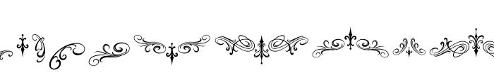 Morgantattoo Morgantattoo ornament Font LOWERCASE