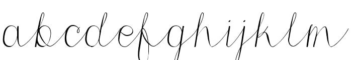 Morri Belle Script Regular Font LOWERCASE