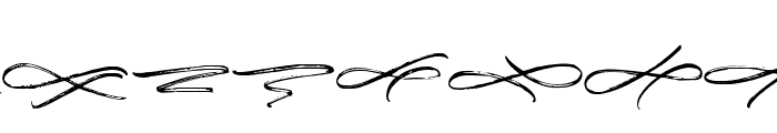 MorristoneSwash Font LOWERCASE