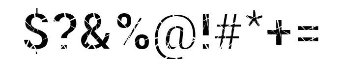 Mosaic Fiil Font OTHER CHARS