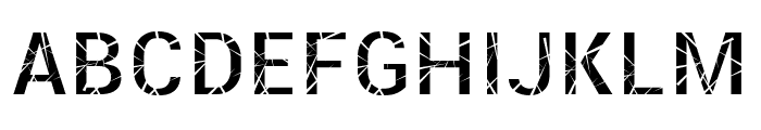 Mosaic Fiil Font UPPERCASE