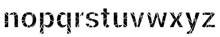 Mosaic Fiil Font LOWERCASE