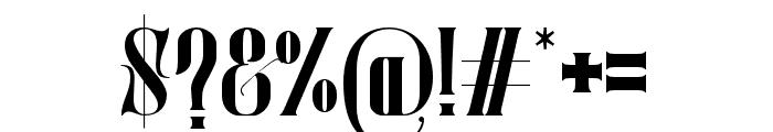 Mostfear-Regular Font OTHER CHARS
