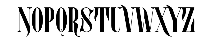 Mostfear-Regular Font UPPERCASE
