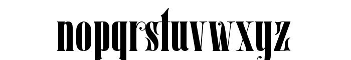 Mostfear-Regular Font LOWERCASE