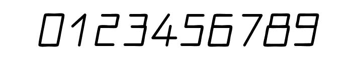 Motor regular Font OTHER CHARS