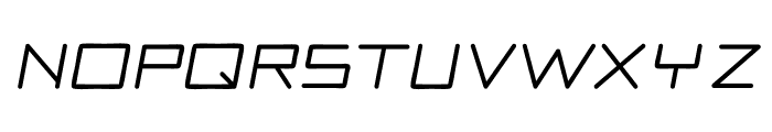Motor regular Font LOWERCASE