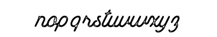 Mount Hill Rust Font LOWERCASE