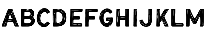 Mounty Textured Font LOWERCASE