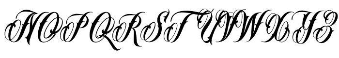 MrBrown-VMF Font UPPERCASE