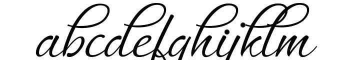 MuangthaiScript Font LOWERCASE