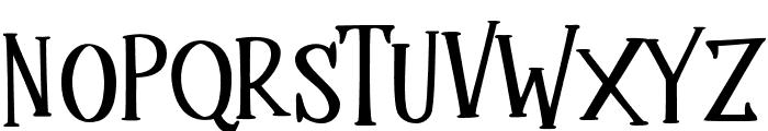 Mukadua Font UPPERCASE