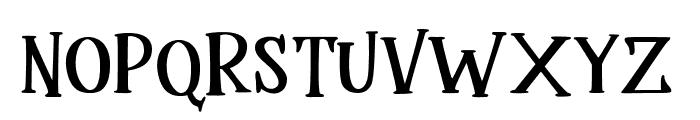 Mukadua Font LOWERCASE