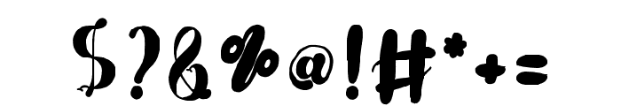 MulanCute Font OTHER CHARS