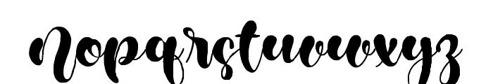 MulanCute Font LOWERCASE