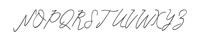 Mulia Font UPPERCASE
