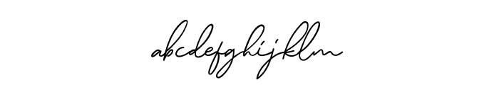 MurphyScript Font LOWERCASE
