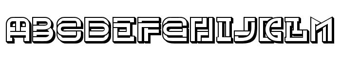 Museum Hollow Regular Font UPPERCASE