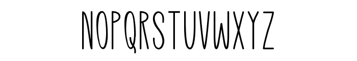 Mutual Dreaming Font UPPERCASE