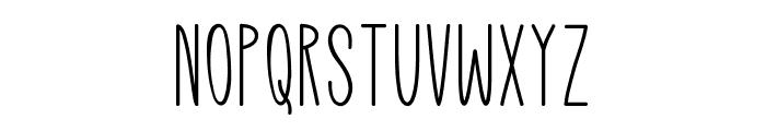 Mutual Dreaming Font LOWERCASE
