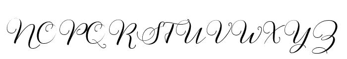 Mutyara Font UPPERCASE