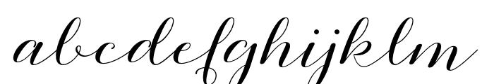 Mutyara Font LOWERCASE