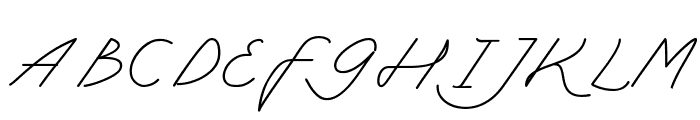 My Ugly Handwritting Font UPPERCASE