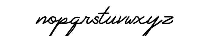 My Ugly Handwritting Font LOWERCASE