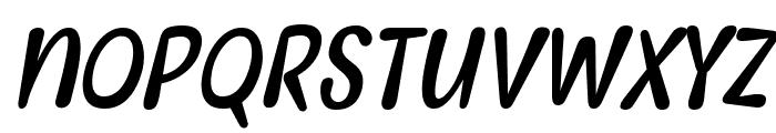Myfrida Italic Font LOWERCASE