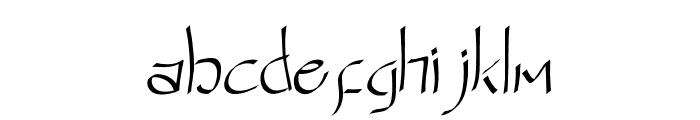 NINJA WARRIOR Font LOWERCASE