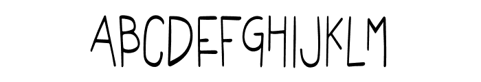 NN Kids Love Animal Font UPPERCASE