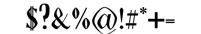 NN Tropical Serif Font OTHER CHARS