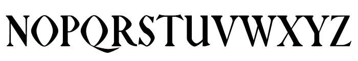 NN Tropical Serif Font UPPERCASE