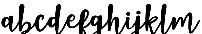 NaishilaDancingScript Font LOWERCASE