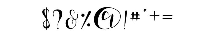 Nalisha Font OTHER CHARS