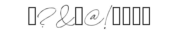 Names Regular Font OTHER CHARS